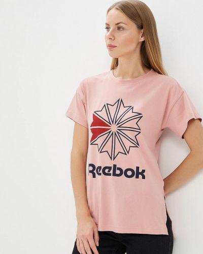 Розовое поло Reebok Classics