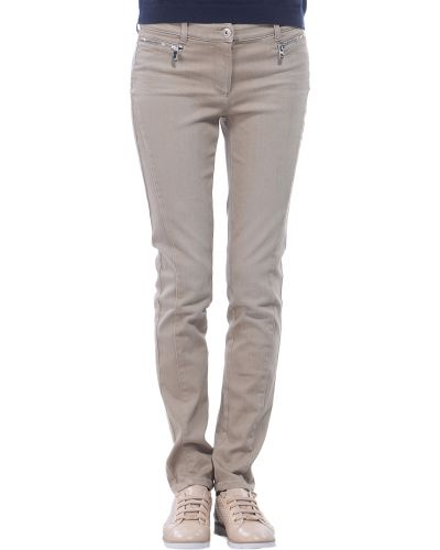 Бежевые джинсы Armani Jeans