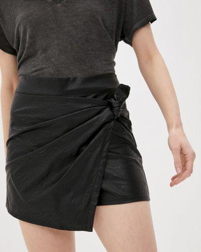 Черная юбка-шорты Rinascimento