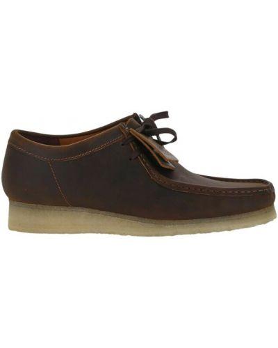 Loafers - brązowe Clarks