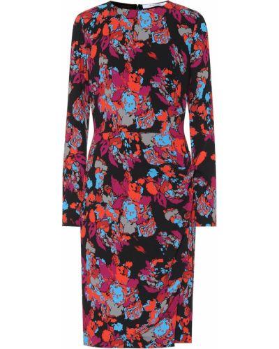 Sukienka midi z wiskozy Givenchy