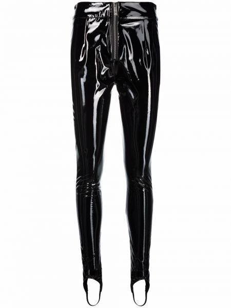 Черные брюки на шпильке John Richmond