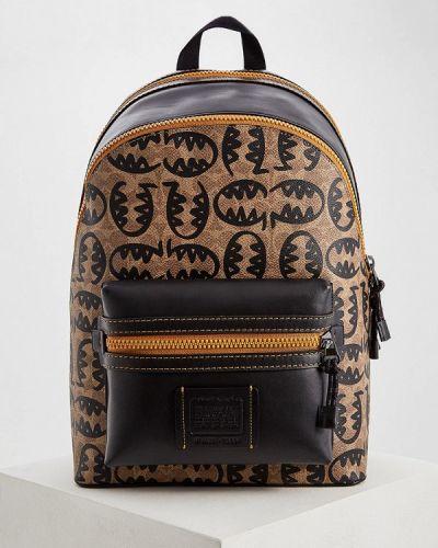 Рюкзак коричневый Coach