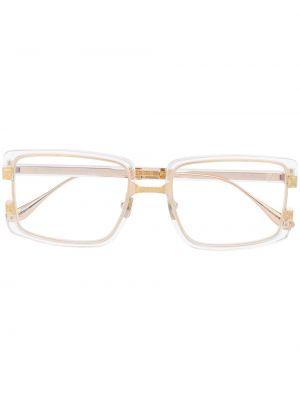 Białe złote okulary Anna Karin Karlsson