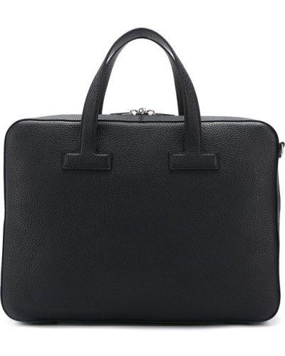 Кожаная сумка для ноутбука Tom Ford