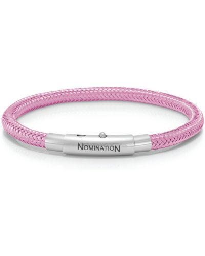 Розовый браслет цветной Nomination
