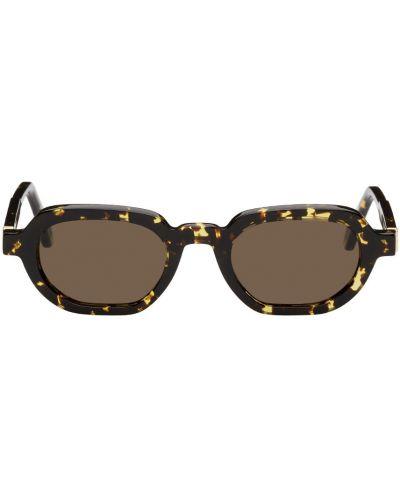 Okulary skorzane - czarne Han Kjobenhavn