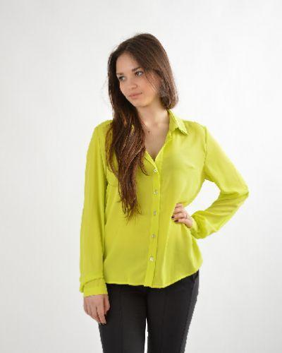 Блузка из полиэстера - желтая Emma Monti