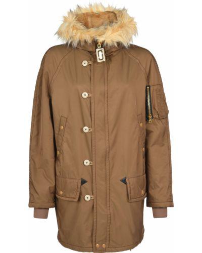 Нейлоновая куртка - коричневая Marc Jacobs