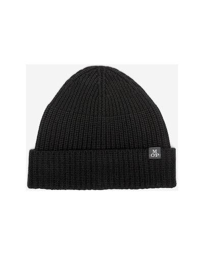 Czarna czapka wełniana Marc O Polo