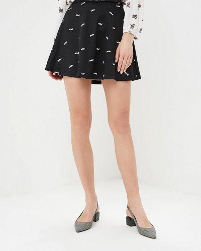 Юбка черная Yumi
