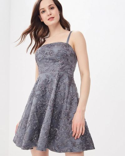 Серое вечернее платье Vestetica