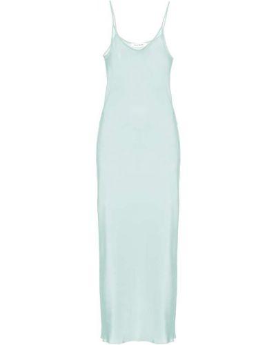 Классическое платье макси мятное Ryan Roche