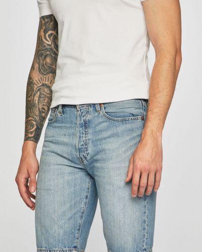 Прямые коричневые джинсовые шорты с карманами из овчины Levi's®
