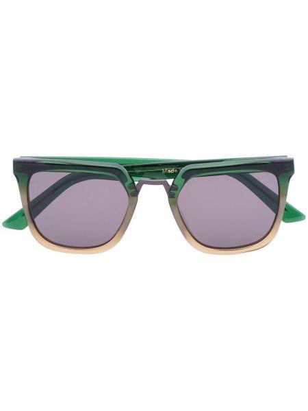 Zielone okulary z akrylu Kirk Originals