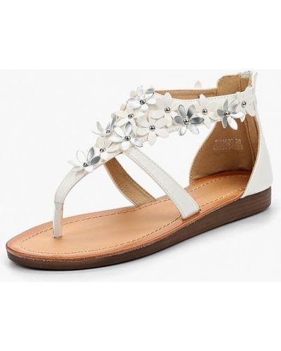 Белые сандалии Catisa