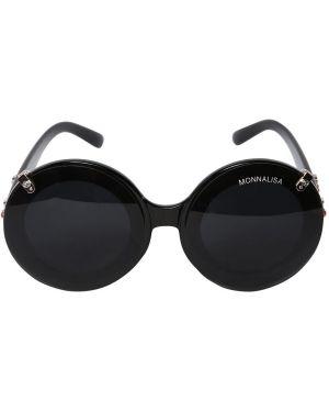 Okulary przeciwsłoneczne okrągły z logo Monnalisa