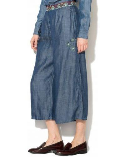 Spodnie palazzo - niebieskie Desigual