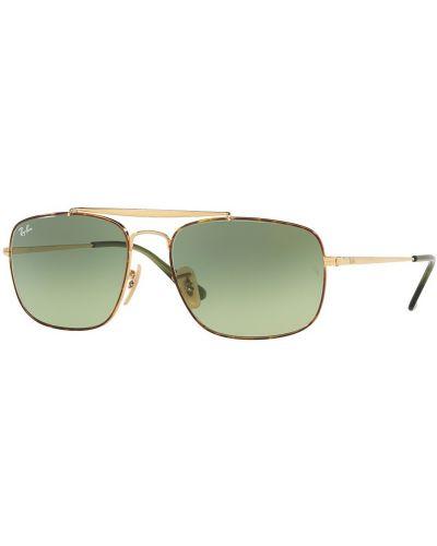 Солнцезащитные очки стеклянные золотой Ray-ban