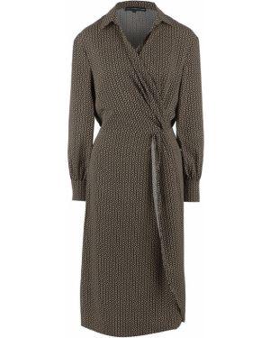 Платье с поясом с драпировкой с драпировкой Love Republic