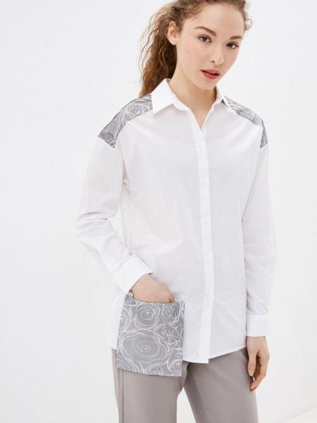 Рубашка с длинным рукавом белая Lina