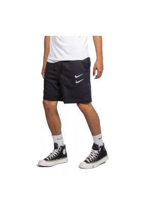 Czarne krótkie szorty Nike