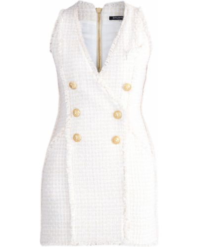 Платье мини с бахромой винтажная Balmain