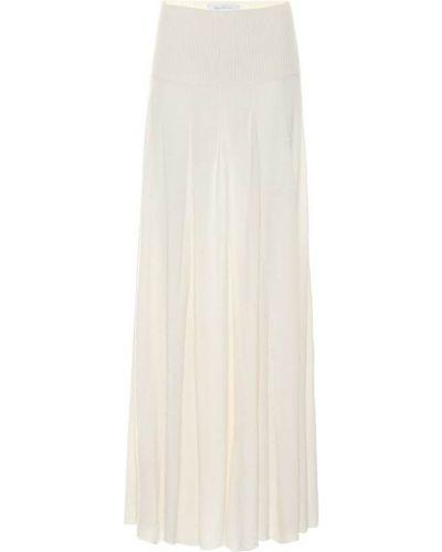Ажурная юбка макси айвори Ryan Roche