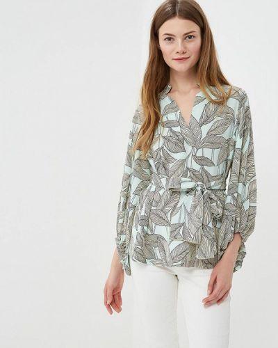 Блузка зеленый Adzhedo