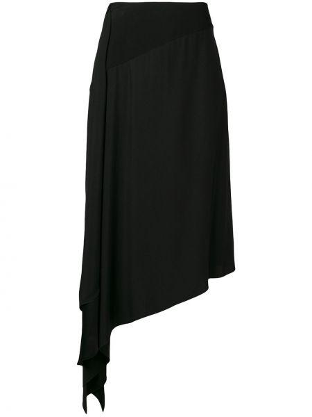 Юбка с завышенной талией асимметричная Givenchy