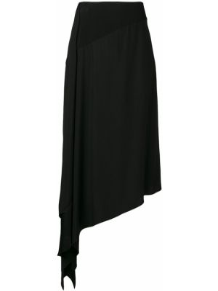 Spódnica asymetryczny z wysokim stanem Givenchy