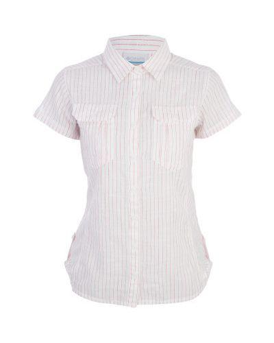 Рубашка с коротким рукавом хлопковая с карманами Columbia