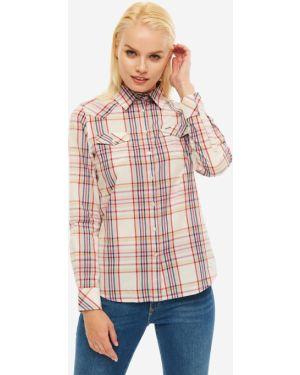 Рубашка в клетку с карманами Wrangler