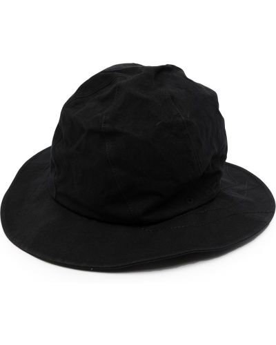 Czarna czapka bawełniana Ys