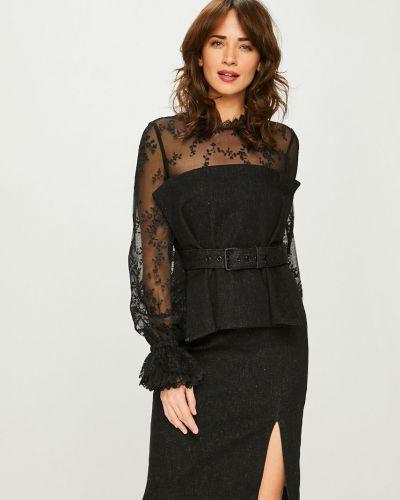 Платье мини с поясом однотонное Miss Sixty