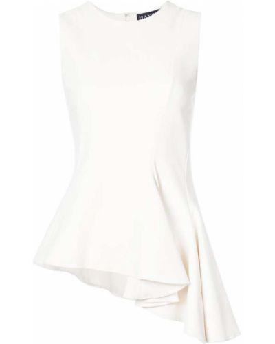 Блузка шелковая телесный Haney