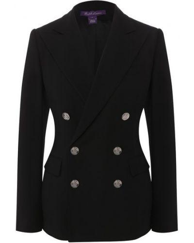 Шерстяной пиджак - черный Ralph Lauren