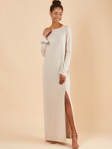 Платье макси с разрезом 12storeez