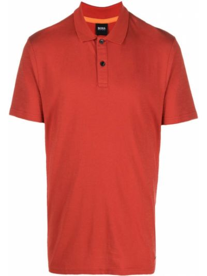 Рубашка с коротким рукавом - красная Boss Hugo Boss