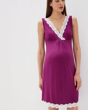 Рубашка фиолетовый Мамин Дом