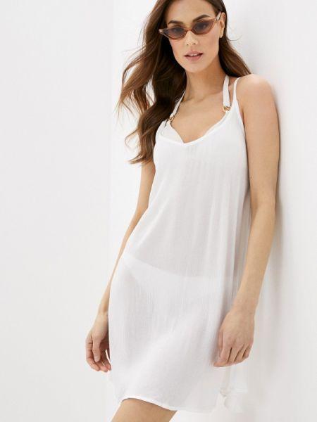 Пляжное белое платье Roxy