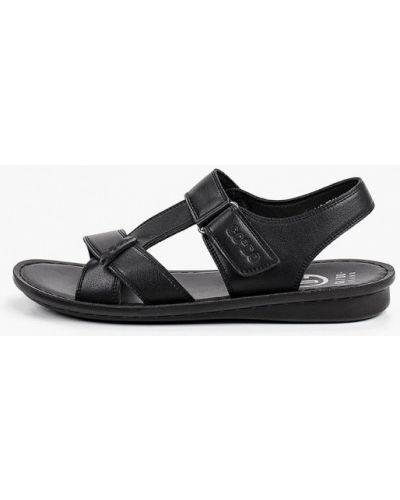 Черные кожаные сандалии Go.do.