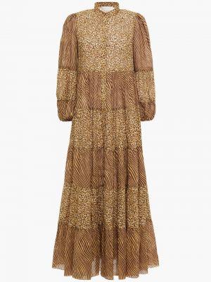 Хлопковое платье макси Zimmermann