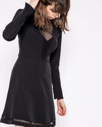 Платье мини с длинными рукавами с вырезом Morgan