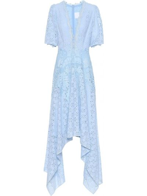 Платье синее Costarellos