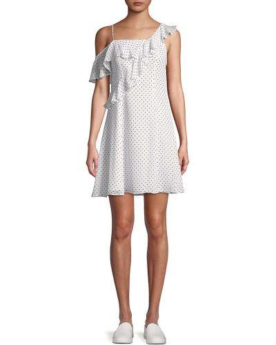Sukienka z falbanami - biała Bailey 44