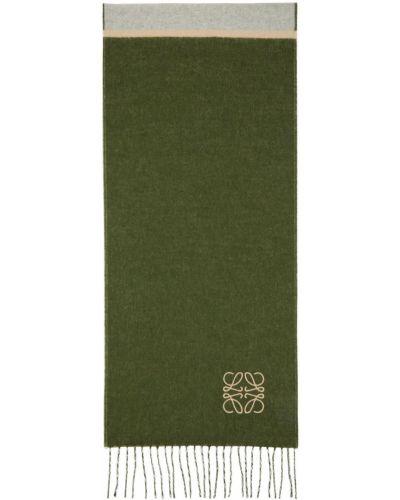 Z kaszmiru szalik - beżowy Loewe