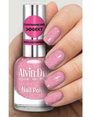 Лак для волос розовый Alvin D'or