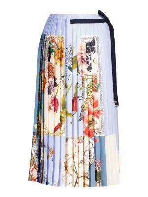 Шелковая юбка Salvatore Ferragamo