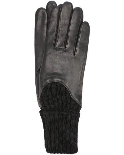 Черные перчатки Agnelle